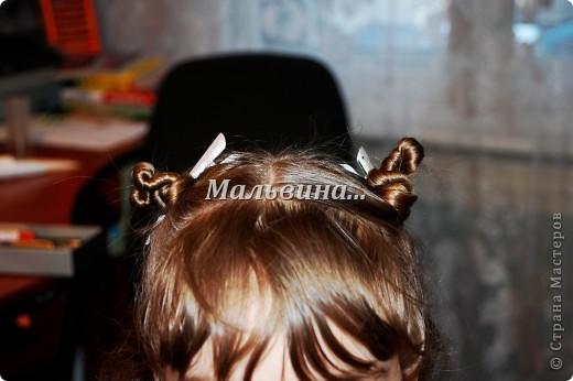 Удобно плетётся. Креативная причёска. Плохое исполнение,ночью делала. фото 4