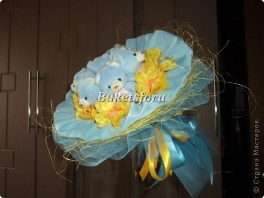 Свадебный букет-дублёр фото 1