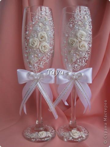 Свадебные наборы в цвете шампань. фото 7