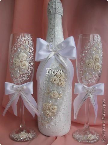 Свадебные наборы в цвете шампань. фото 6