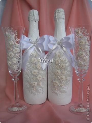 Свадебные наборы в цвете шампань. фото 3