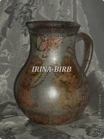 А эта вазочка в подарок племяннице на день рождения!!! фото 11