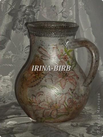 А эта вазочка в подарок племяннице на день рождения!!! фото 9