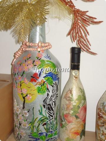 Бутылочки в интерьере фото 3