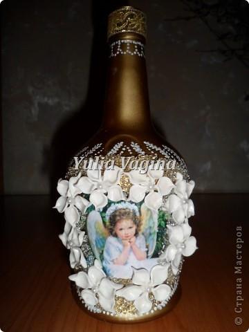 Привет, Страна!  Получила первый заказ салона ритуальных услуг. Необычный заказ, попросили сделать вазы для цветов на могилки. Первую вазу делала с каким-то непонятным чувством тоски, но потом стало легче, и отнеслась к работе как к обычному заказу... фото 9