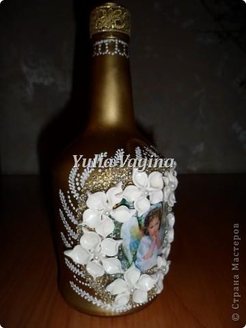 Привет, Страна!  Получила первый заказ салона ритуальных услуг. Необычный заказ, попросили сделать вазы для цветов на могилки. Первую вазу делала с каким-то непонятным чувством тоски, но потом стало легче, и отнеслась к работе как к обычному заказу... фото 11