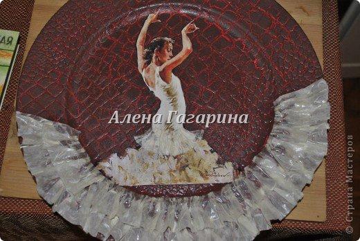 "Мастер-класс тарелки ""Танцовщица Фламенко"". фото 27"