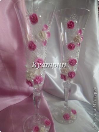 Свадебные бокалы. фото 5