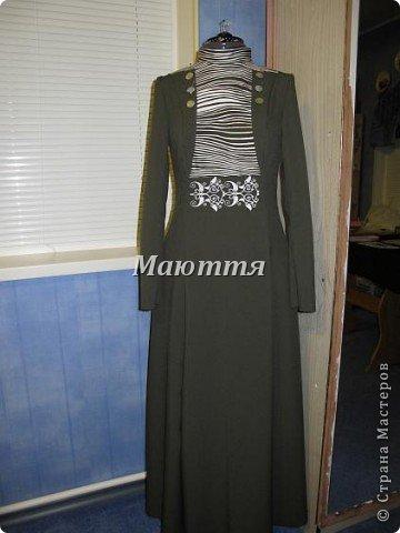 """про то, что дочь у меня """"болеет"""" стилем """"модерн"""" (начало 20го века), я вам уже говорила и одно платье уже показывала. Вот теперь обещенное другое плтье фото 3"""