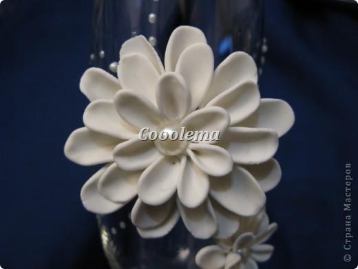 Привет всем! Попробовала бокалы с хризантемой фото 3