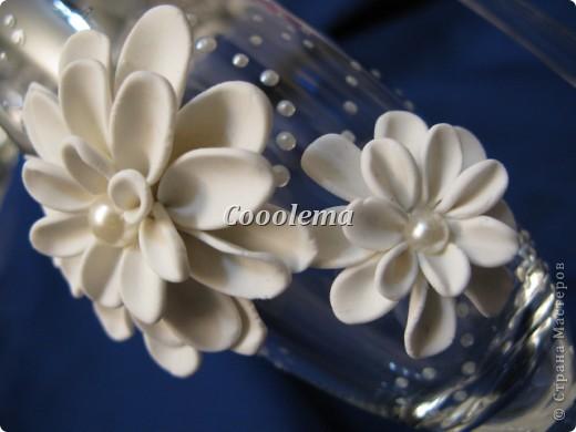 Привет всем! Попробовала бокалы с хризантемой фото 4