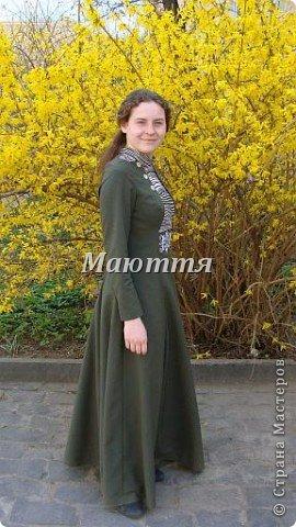 """про то, что дочь у меня """"болеет"""" стилем """"модерн"""" (начало 20го века), я вам уже говорила и одно платье уже показывала. Вот теперь обещенное другое плтье фото 1"""