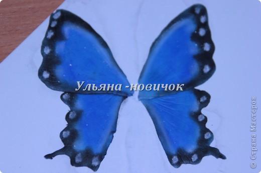 Ну девочки, как и просили, выкладываю МК, как я делаю бабочек))) Я в стране с этой идеей не первенец, первую бабочку я увидела из соленого теста  у Решетниковой Екатерины ( http://stranamasterov.ru/node/168707) (  и чудесную брошку от Марины V (http://stranamasterov.ru/node/351587?c=favorite). Вот, выкладываю вам свою версию))) И так, приступим))) фото 8
