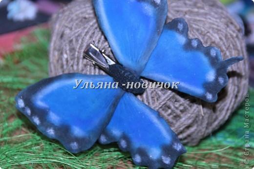 Ну девочки, как и просили, выкладываю МК, как я делаю бабочек))) Я в стране с этой идеей не первенец, первую бабочку я увидела из соленого теста  у Решетниковой Екатерины ( http://stranamasterov.ru/node/168707) (  и чудесную брошку от Марины V (http://stranamasterov.ru/node/351587?c=favorite). Вот, выкладываю вам свою версию))) И так, приступим))) фото 1