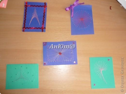 Мои первые АТС-карточки! Не судите строго! Сделала из подручных материалов!!! фото 7