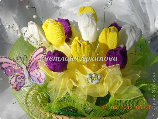 Подарок для подруги,она обожает тюльпаны! фото 1