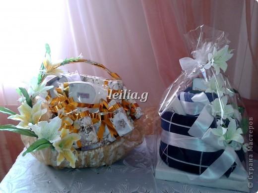 праздничная  упаковка  подарков     фото 1