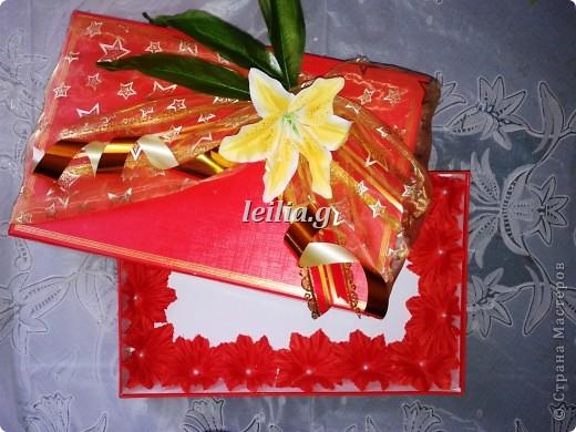 праздничная  упаковка  подарков     фото 10