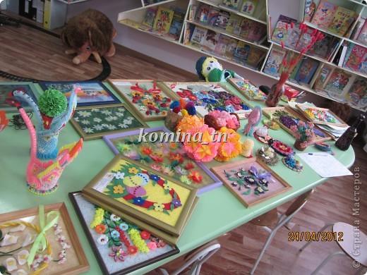 Идет бурная подготовка и отбор работ к выставке художественного творчества, которая проходит среди детских домов интернатов для умственно осталых детей. фото 1
