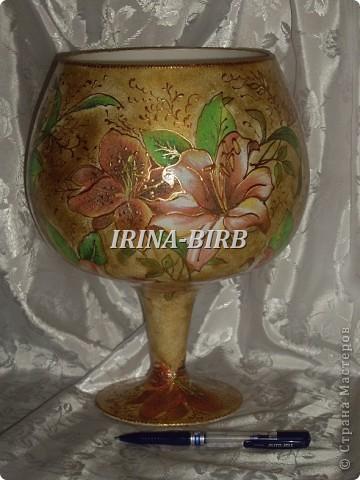 А эта вазочка в подарок племяннице на день рождения!!! фото 6
