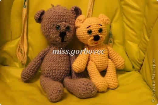 первые вязанные игрушки для сыночка фото 1