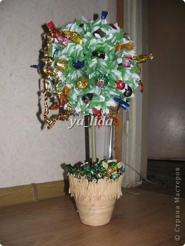 Мои первые деревья, делала в подарок воспитателям в детский сад на Новый год. фото 2