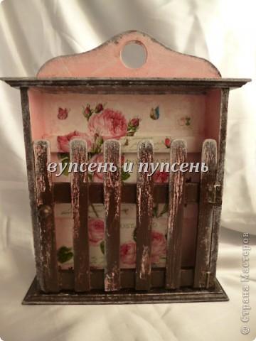 Наборчик: Ключница и декоративные тарелки фото 2