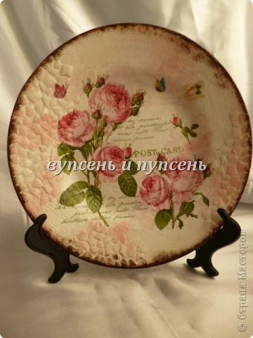 Наборчик: Ключница и декоративные тарелки фото 5