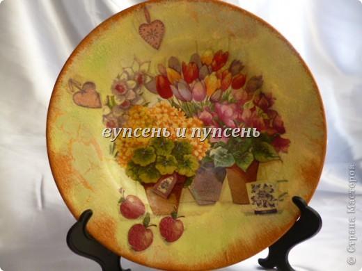 Наборчик: Ключница и декоративные тарелки фото 9