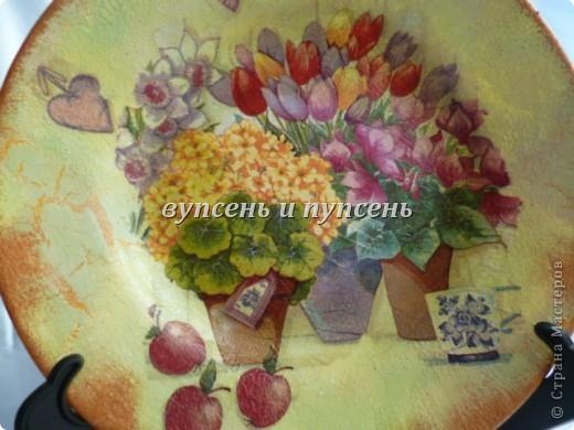 Наборчик: Ключница и декоративные тарелки фото 11
