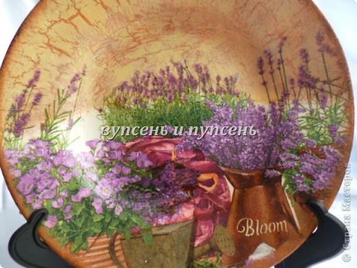 Наборчик: Ключница и декоративные тарелки фото 10