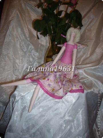 Куклы Шитьё Тильда Прицесса Нежная Гуашь фото 2