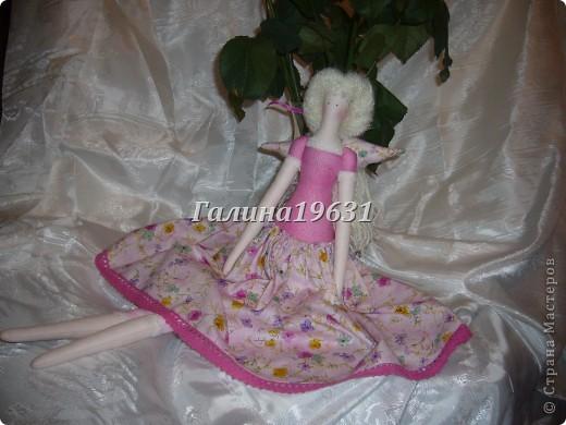 Куклы Шитьё Тильда Прицесса Нежная Гуашь фото 4