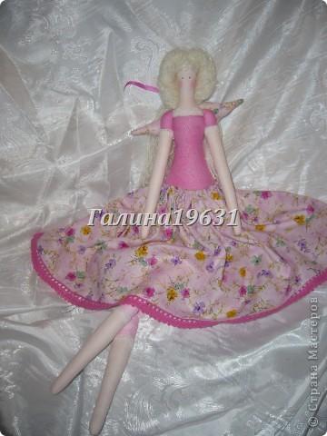 Куклы Шитьё Тильда Прицесса Нежная Гуашь фото 7
