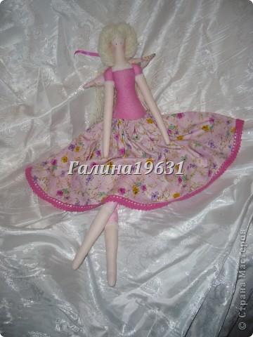 Куклы Шитьё Тильда Прицесса Нежная Гуашь фото 8