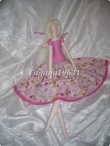 Куклы Шитьё Тильда Прицесса Нежная Гуашь фото 11