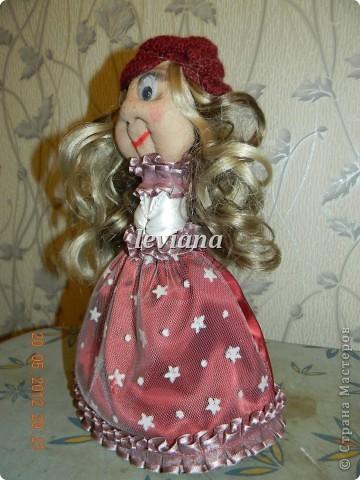 моя первая куколка.У неё появились ручки и нетолько... фото 2