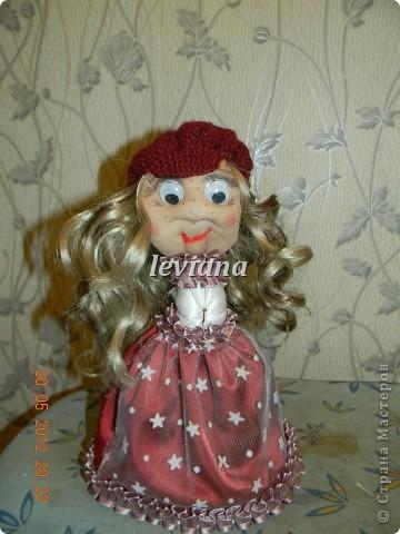 моя первая куколка.У неё появились ручки и нетолько... фото 1