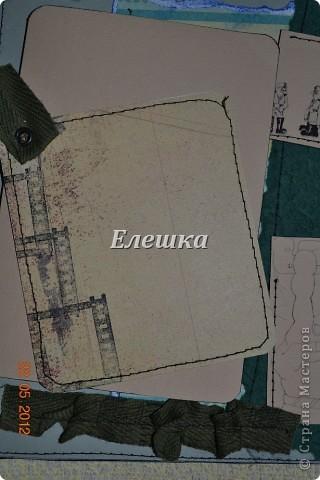 Вот и такое бывает, не успела я закинуть фотографии прошлого дембельского альбома http://stranamasterov.ru/node/359342 , как поступил заказ на новый! На этот раз космические войска, ну что ж жду Ваших отзывов и критики! фото 3