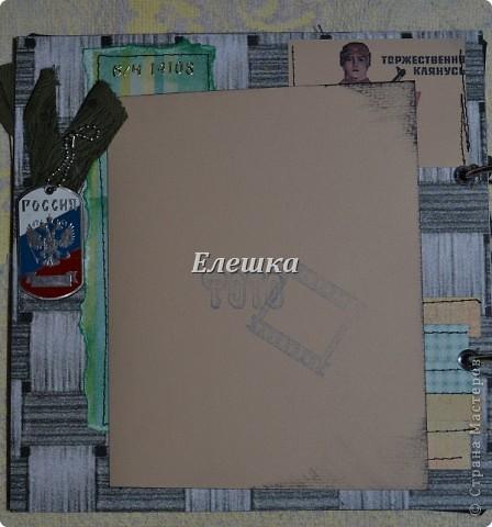 Вот и такое бывает, не успела я закинуть фотографии прошлого дембельского альбома http://stranamasterov.ru/node/359342 , как поступил заказ на новый! На этот раз космические войска, ну что ж жду Ваших отзывов и критики! фото 10