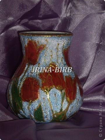 А эта вазочка в подарок племяннице на день рождения!!! фото 1