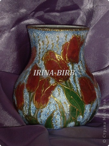 А эта вазочка в подарок племяннице на день рождения!!! фото 2