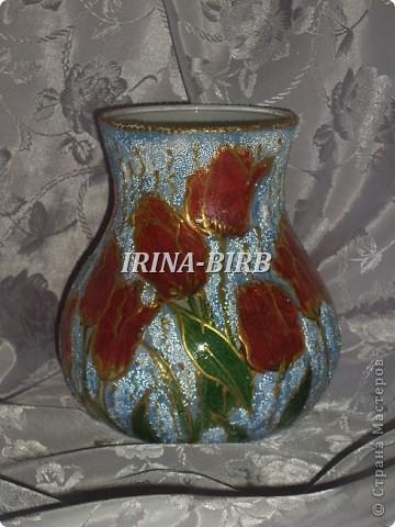А эта вазочка в подарок племяннице на день рождения!!! фото 3