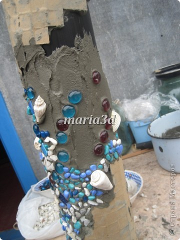 Долго вынашивала идею создания вазона для цветов, прорабатывала в голове детали, искала необходимые материалы, собиралась с духом, как сказать. И вот итог: фото 8