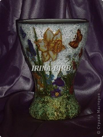 А эта вазочка в подарок племяннице на день рождения!!! фото 42