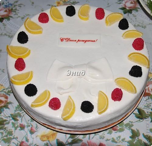 Торт с мастикой на день рождения своими