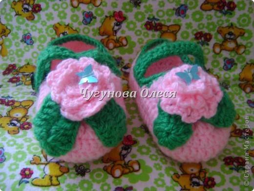 Туфельки для моей принцессы. фото 1