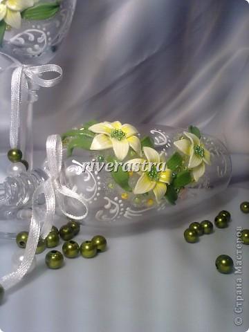 Давно мечтала сделать бокалы по работам Саровочки http://stranamasterov.ru/node/321306?c=favorite. Эти бокалы были эталоном. фото 5