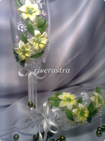 Давно мечтала сделать бокалы по работам Саровочки http://stranamasterov.ru/node/321306?c=favorite. Эти бокалы были эталоном. фото 7