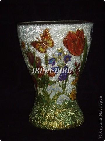 А эта вазочка в подарок племяннице на день рождения!!! фото 55